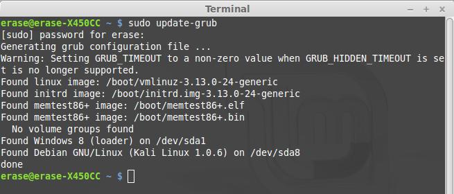 updateGRUB2