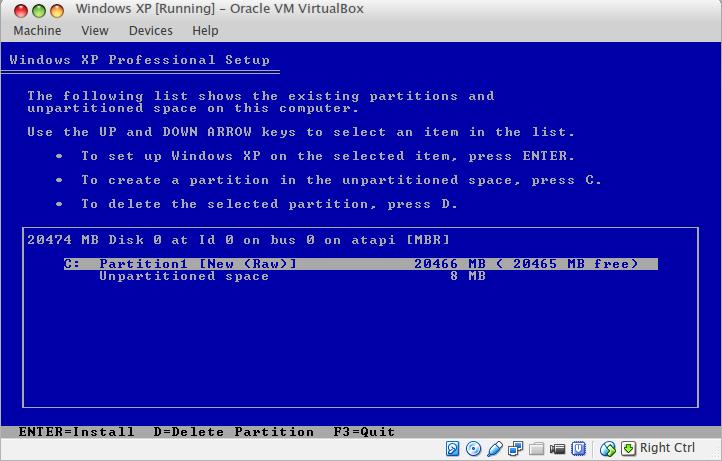 windowssetuppartition3