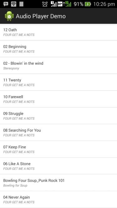 screenshot playlist