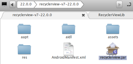 recyclerview 4