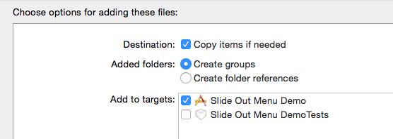 add file options