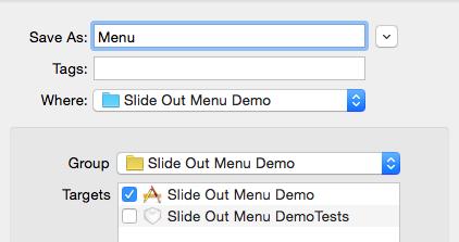 create swift file name